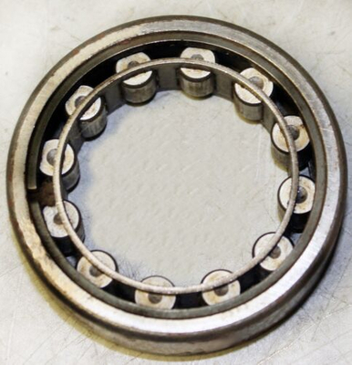 1206 CYLINDRICAL ROLLER BEARING WITH 12 ROLLERS USED FOR INDUSTRIAL